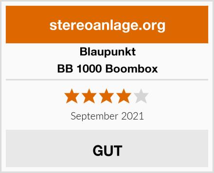 Blaupunkt BB 1000 Boombox Test