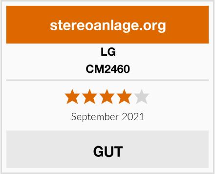 LG CM2460 Test