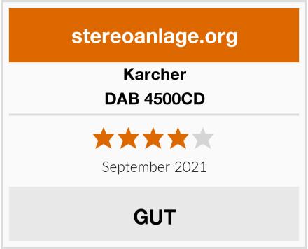 Karcher DAB 4500CD Test