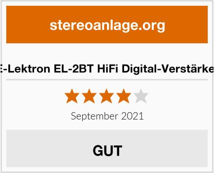 E-Lektron EL-2BT HiFi Digital-Verstärker Test