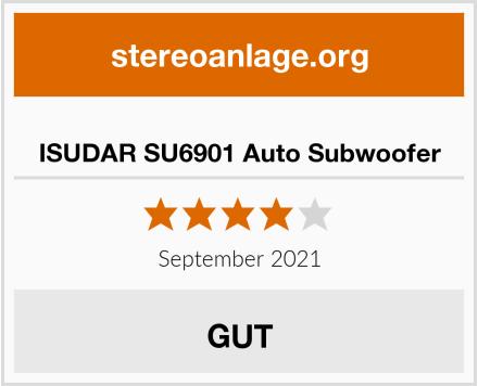 ISUDAR SU6901 Auto Subwoofer Test