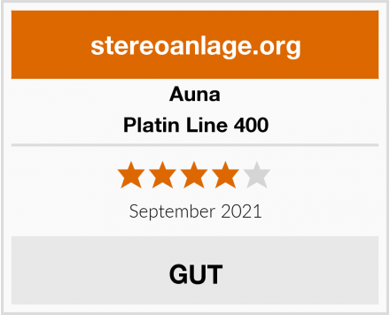 Auna Platin Line 400 Test