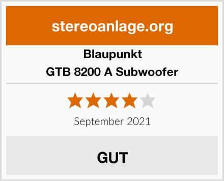 Blaupunkt GTB 8200 A Subwoofer Test
