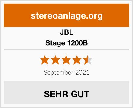 JBL Stage 1200B Test