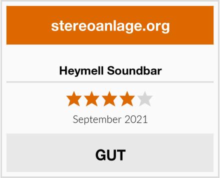 Heymell Soundbar Test