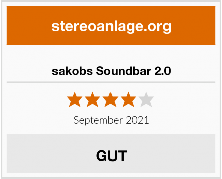 sakobs Soundbar 2.0 Test