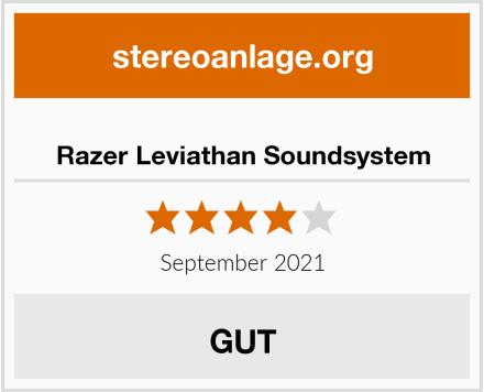 Razer Leviathan Soundsystem Test