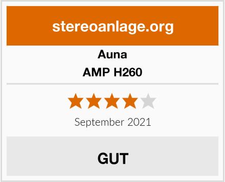Auna AMP H260 Test