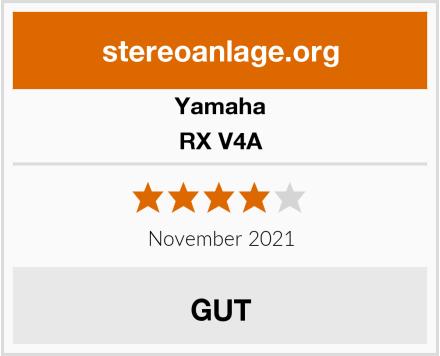Yamaha RX V4A Test