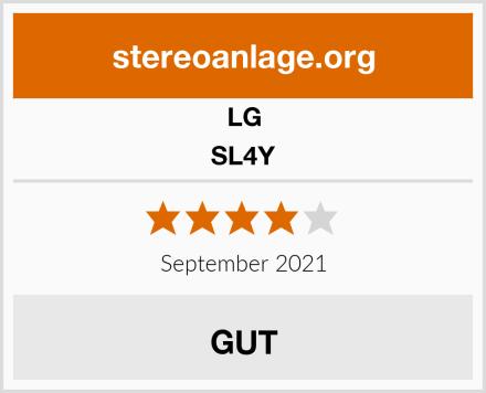 LG SL4Y Test