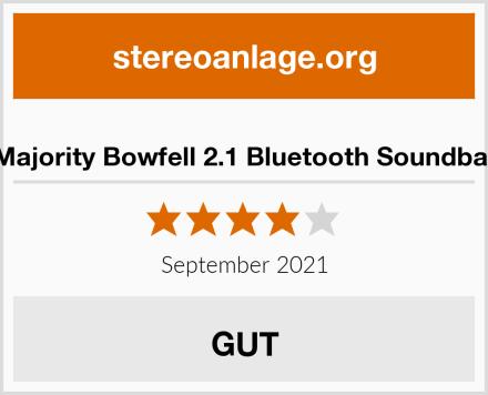 Majority Bowfell 2.1 Bluetooth Soundbar Test