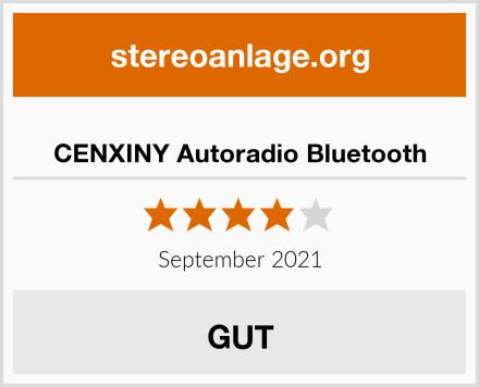 CENXINY Autoradio Bluetooth Test