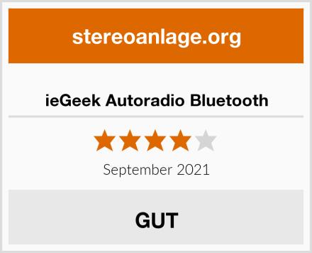 ieGeek Autoradio Bluetooth Test
