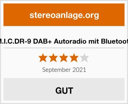 M.I.C.DR-9 DAB+ Autoradio mit Bluetooth Test