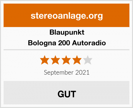 Blaupunkt Bologna 200 Autoradio Test