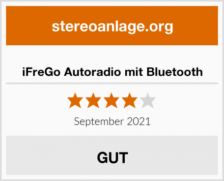 iFreGo Autoradio mit Bluetooth Test