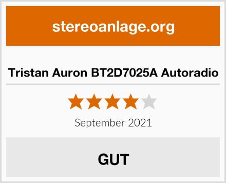 Tristan Auron BT2D7025A Autoradio Test