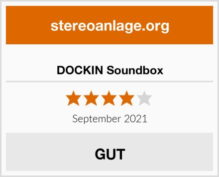 DOCKIN Soundbox Test