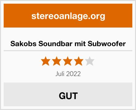 Sakobs Soundbar mit Subwoofer Test