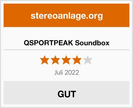 QSPORTPEAK Soundbox Test