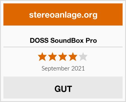 DOSS SoundBox Pro Test