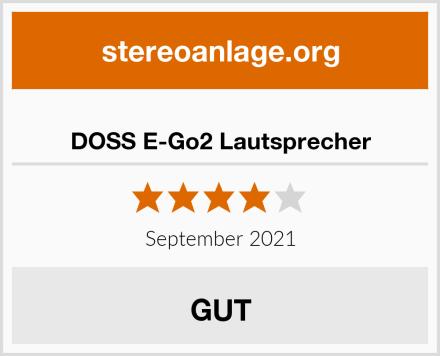 DOSS E-Go2 Lautsprecher Test