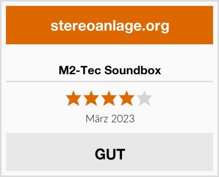M2-Tec Soundbox Test