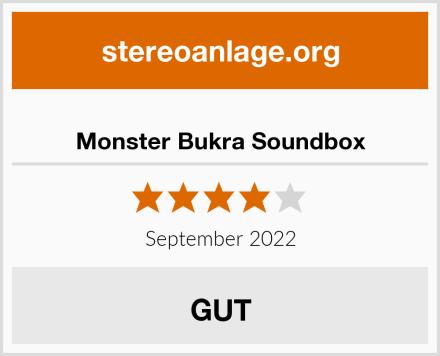 Monster Bukra Soundbox Test