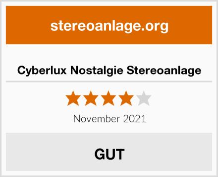 Cyberlux Nostalgie Stereoanlage Test