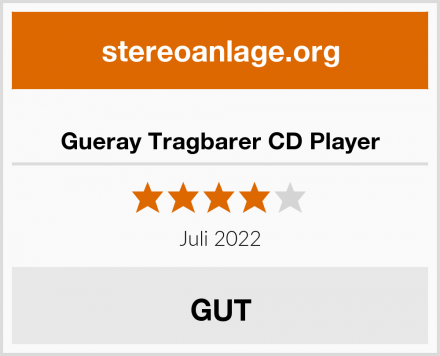 Gueray Tragbarer CD Player Test