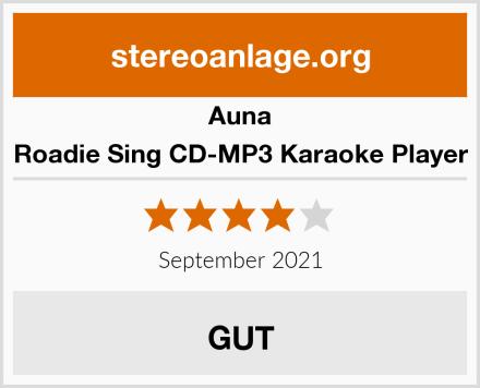 Auna Roadie Sing CD-MP3 Karaoke Player Test