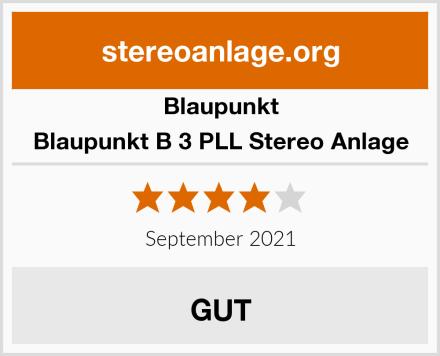 Blaupunkt Blaupunkt B 3 PLL Stereo Anlage Test