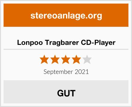 Lonpoo Tragbarer CD-Player Test