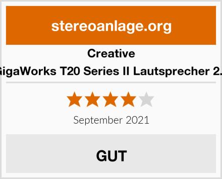 Creative GigaWorks T20 Series II Lautsprecher 2.0 Test