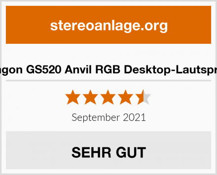 Redragon GS520 Anvil RGB Desktop-Lautsprecher Test