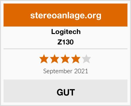 Logitech Z130 Test