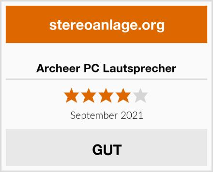 Archeer PC Lautsprecher Test