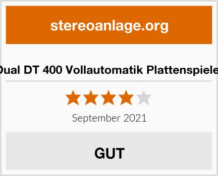Dual DT 400 Vollautomatik Plattenspieler Test