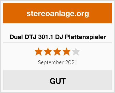 Dual DTJ 301.1 DJ Plattenspieler Test