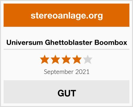 Universum Ghettoblaster Boombox Test