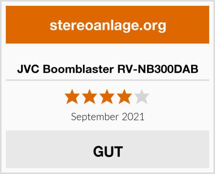JVC Boomblaster RV-NB300DAB Test