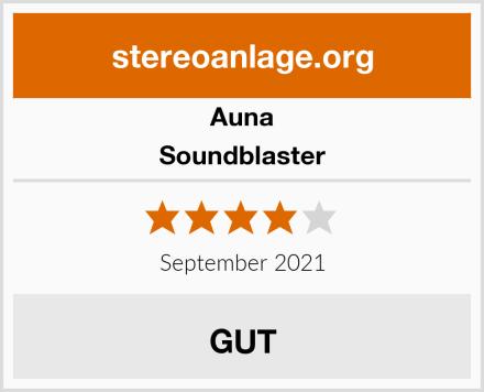 Auna Soundblaster Test