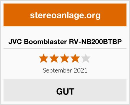 JVC Boomblaster RV-NB200BTBP Test