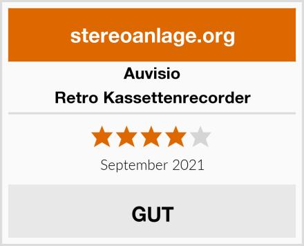 Auvisio Retro Kassettenrecorder Test