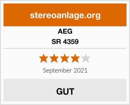 AEG SR 4359 Test