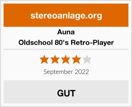 Auna Oldschool 80's Retro-Player Test