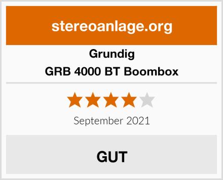 Grundig GRB 4000 BT Boombox Test