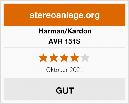 Harman/Kardon AVR 151S Test