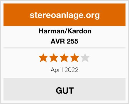 Harman/Kardon AVR 255 Test