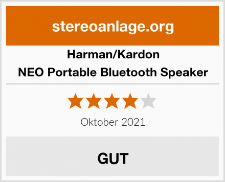 Harman/Kardon NEO Portable Bluetooth Speaker Test